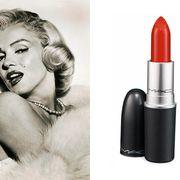 marilyn monroe and lipstick