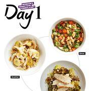 Food, Cuisine, Dish, Recipe, Ingredient, Vegetarian food, Meal, Produce, Vegetable, Breakfast,