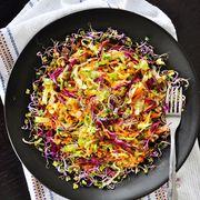 Healthy vegetable slaw