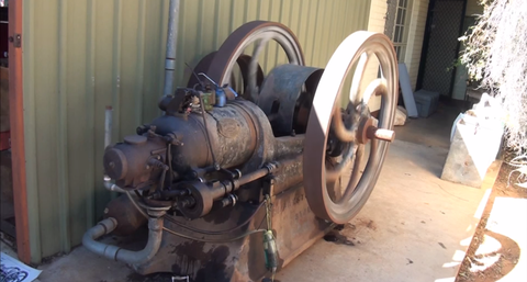 Blackstone oil engine