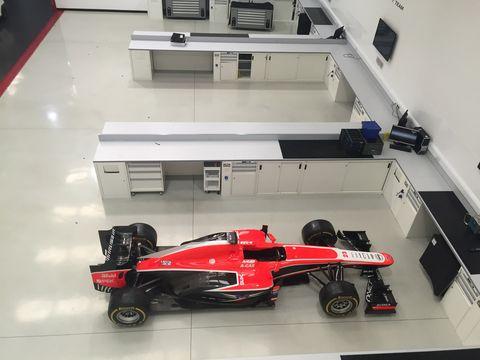 Marussia F1 Asset Auction