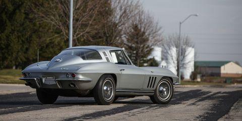 1965 Chevrolet Corvette Serial Number 001