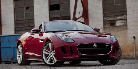 Photos: 2014 Jaguar F-Type S Convertible