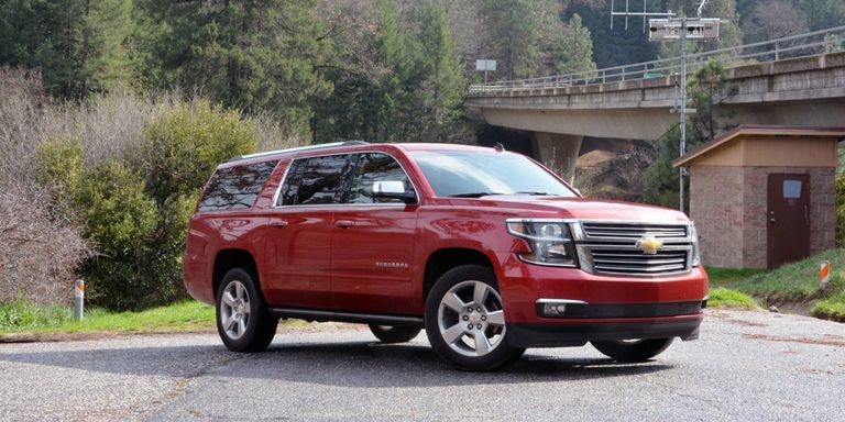 GMC and Chevrolet fullsize SUVs  First Drive