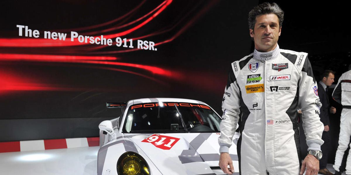patrick dempsey is ready to do a lot more racing in 2015. Black Bedroom Furniture Sets. Home Design Ideas