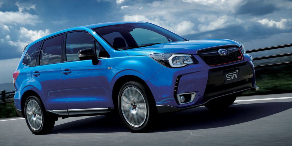 The Subaru Forester Ts Is Not The Sti You Re Looking For