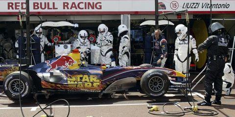 Star Wars Red Bull Formula 1 Car