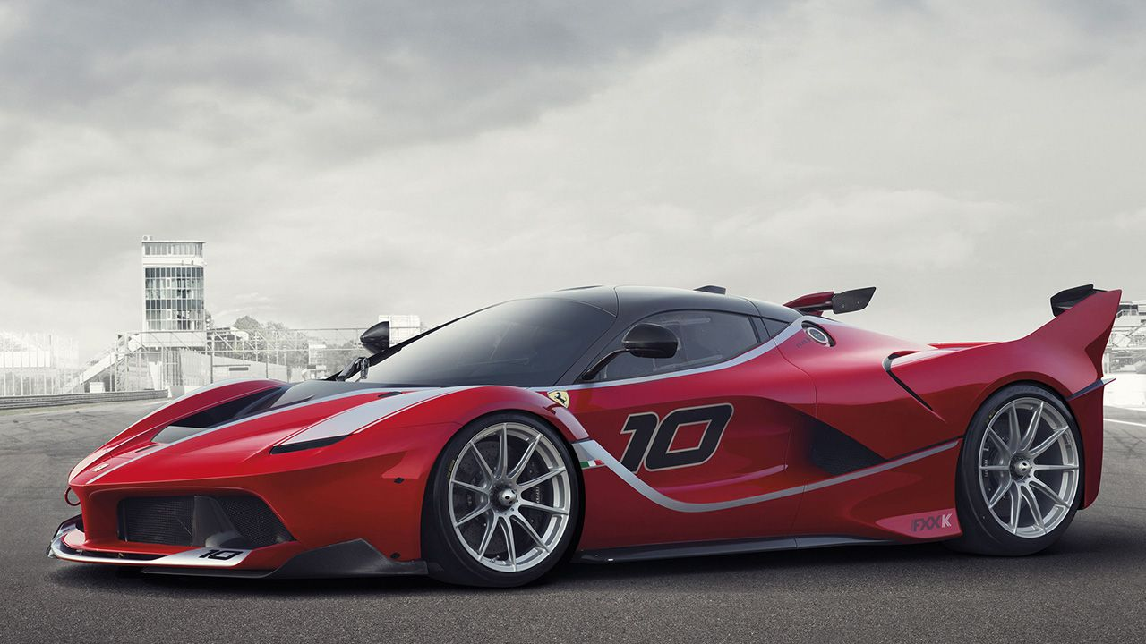 The 2015 Ferrari FXX K, a 1035 hp track-only hybrid, was revealed in Yas Marina.