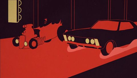 Animated music video for Future - Coupe.