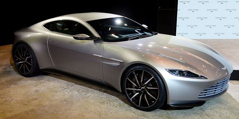 Live Shots Of The Aston Martin DB From Spectre - Db10 aston martin