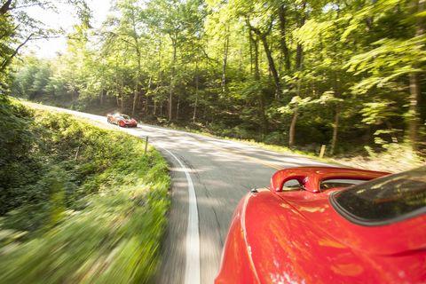 A Ferrari 458 Speciale at The Dragon.