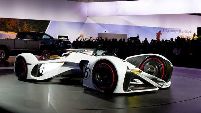 First Virtual Drive: Chevrolet Chaparral 2X Vision Gran Turismo