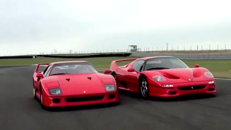 Ferrari F40 v Ferrari F50 - /CHRIS HARRIS ON CARS