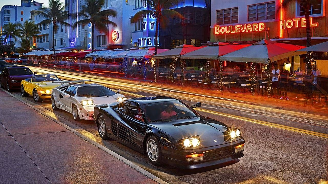 Police Car For Sale >> Miami Vice: Driving the era's exotics, 30 years later