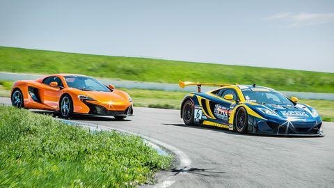 McLaren 650S and MP4-12C-GT3