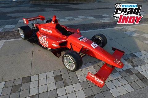 Mazda Indy Lights Car