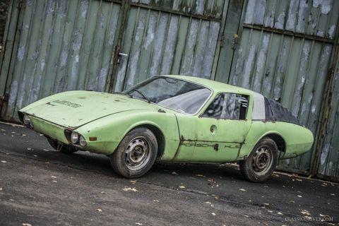 """1966 Porsche 911 HLS """"Klappdach"""" Rennsport Coupé"""