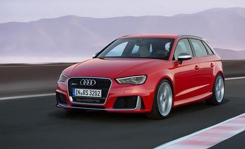 Audi RS3 Sportback (Euro-spec)