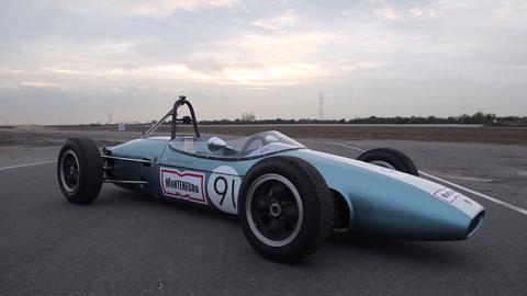 Stuart and Jonathan Hughes' 1963 Brabham BT6 Formula Junior