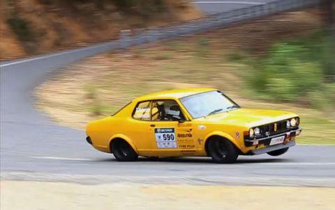 1974 Mitsubishi GC Galant at Targa Tasmania