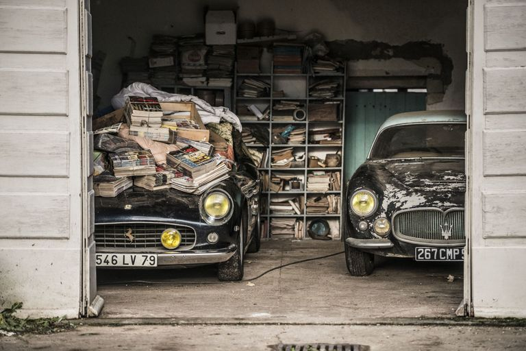 Secret collection of 100 extremely rare cars discovered in France