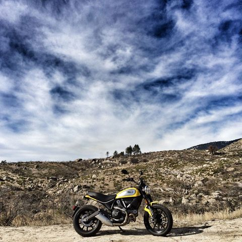 The Cheapest Ducati Scrambler Sounds Terrific