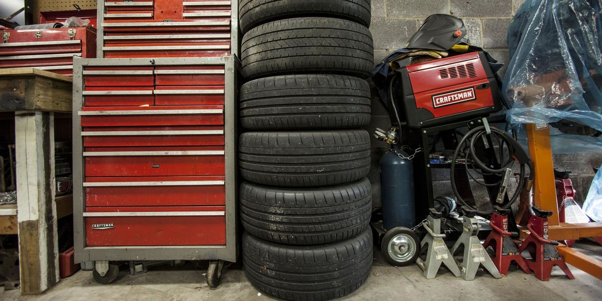 Flat-spotting and you: how to store your tires this winter
