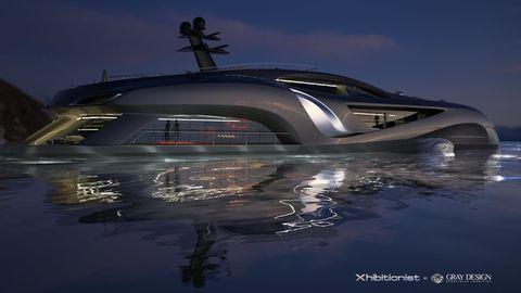 Xhibitionist Yacht Concept
