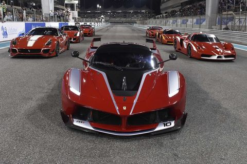 ferrari requiring xx owners to keep their cars at the factory is a myth
