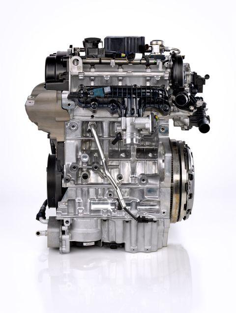 Volvo Drive E Inline 3 Cylinder Turbo Gasoline Engine