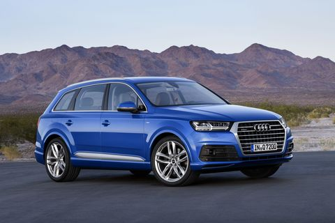 2016 Audi Q7 Lightens Up Gets A 4 Cylinder In The Us