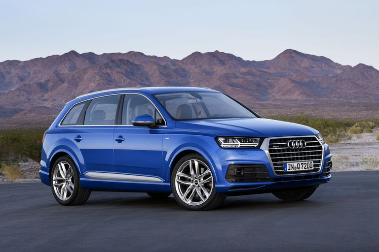 2016 Audi Q7 lightens up, gets a 4-cylinder in the US
