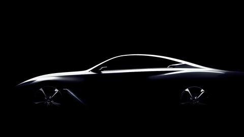 Infiniti Q60 Concept Teaser