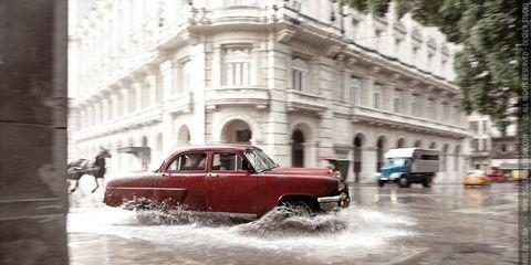 Window, Vehicle, Street, Car, Classic car, Automotive lighting, Antique car, Classic, Metropolis, Windshield,