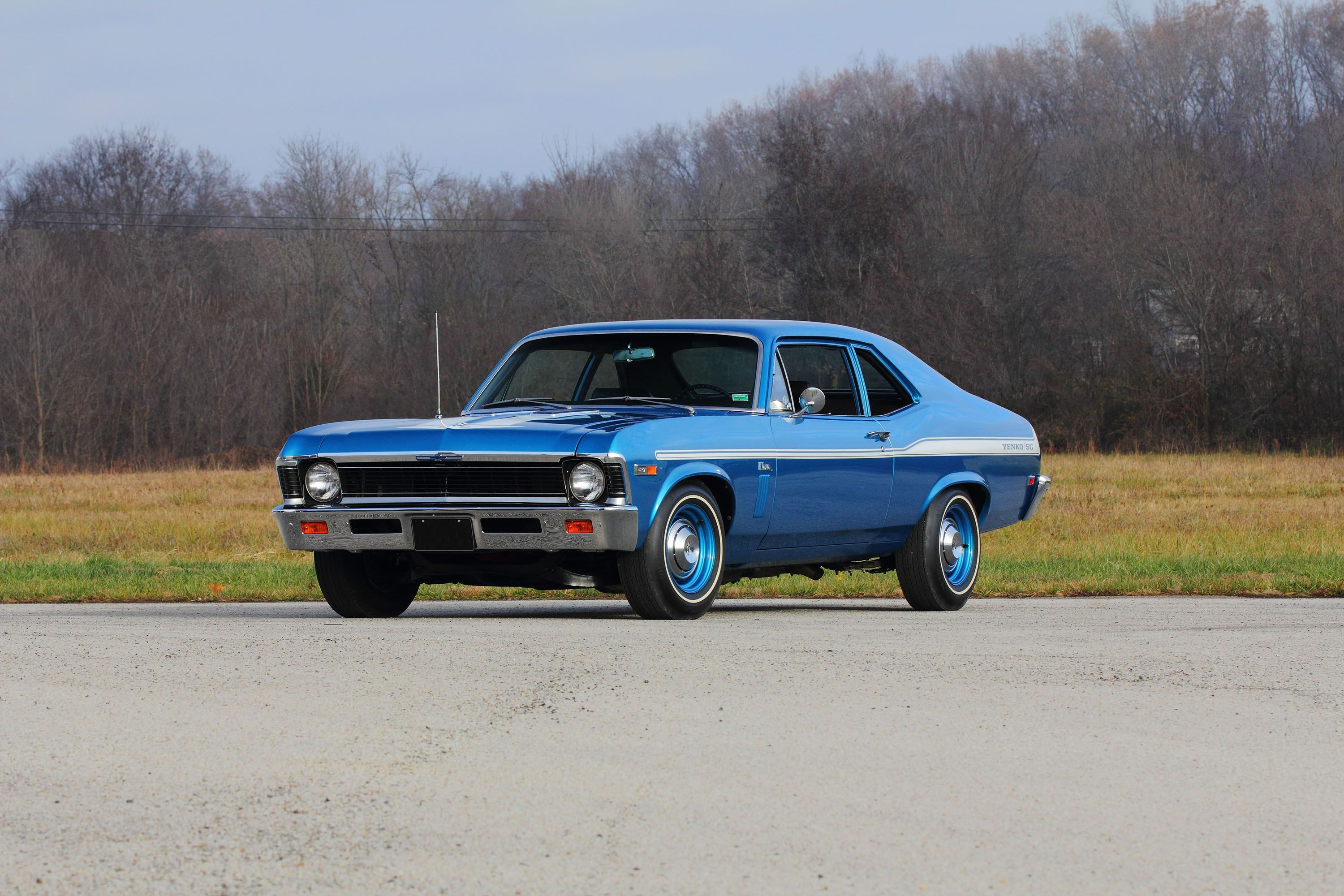This ultrarare Yenko SC427 Nova is up for auction
