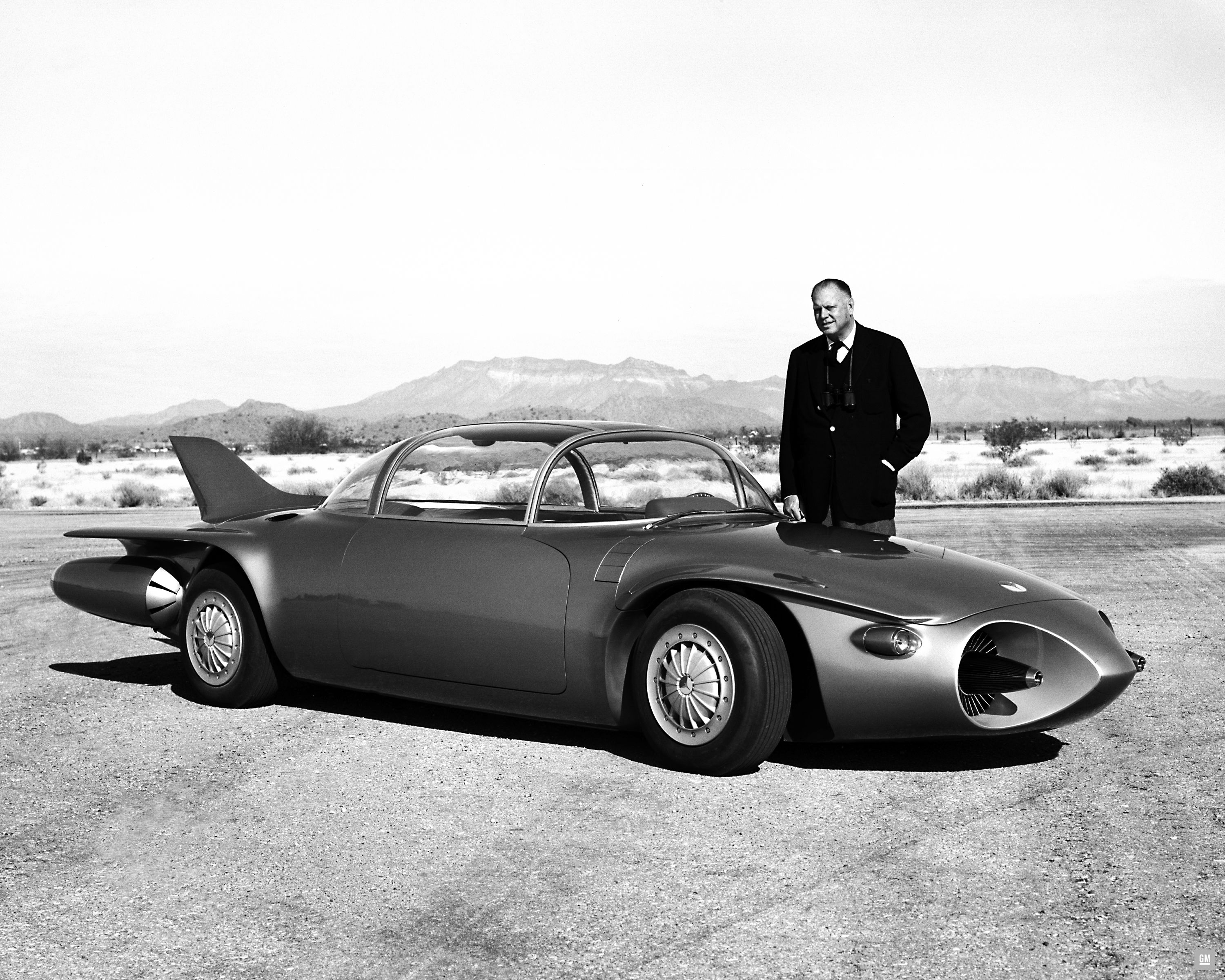 Gms Turbine Powered Firebird Concept Cars Of The 1950s 1950 Pontiac Trans Am