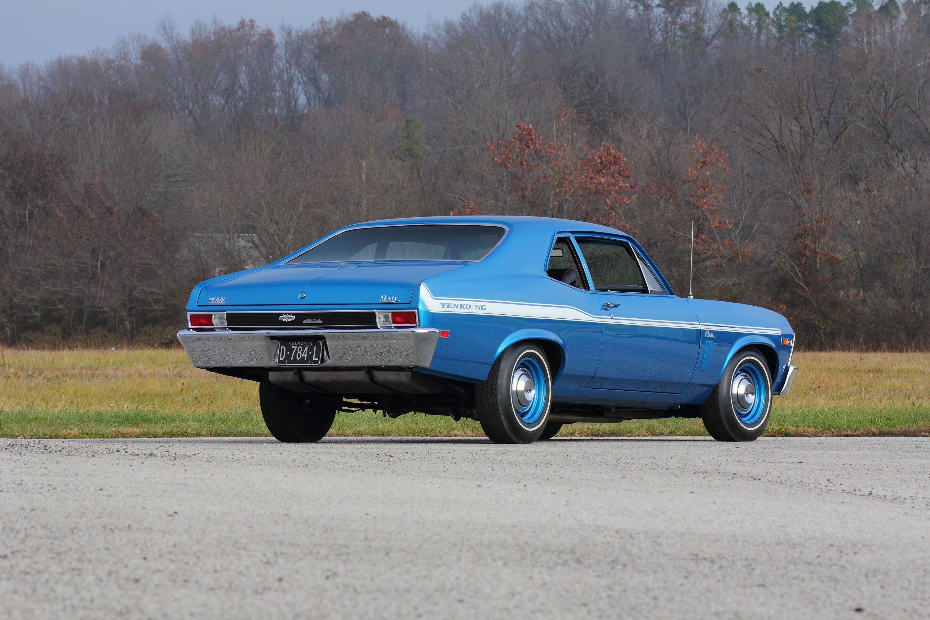 This Ultra Rare Yenko Sc427 Nova Is Up For Auction 1968 Chevrolet Camaro