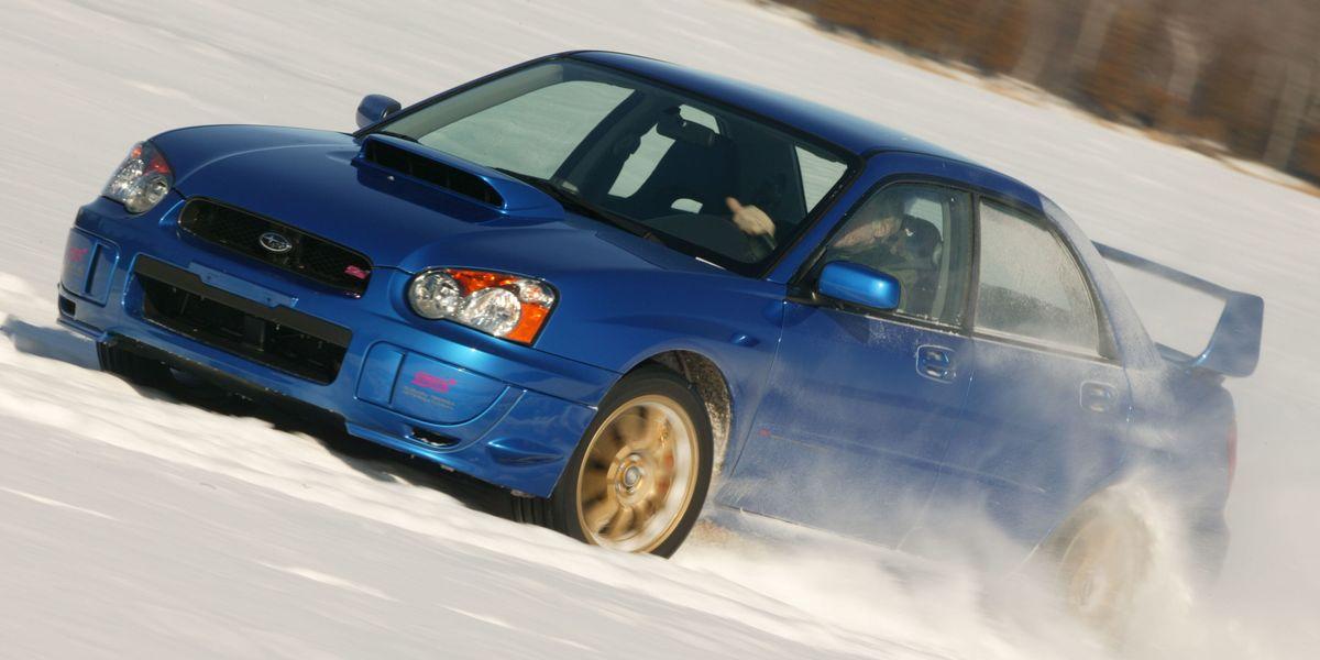 Ultimate Sleigh Ride: Subaru Impreza WRX STi