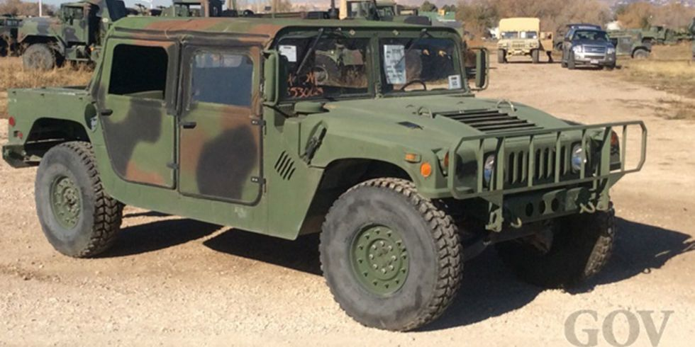 Buy Some Decommissioned Humvees For As Low As 10k