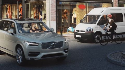 Volvo Cyclist Detection System