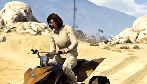 Star Wars: The Force Awakens Trailer in Grand Theft Auto V