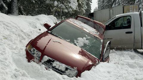 winter pileup crash