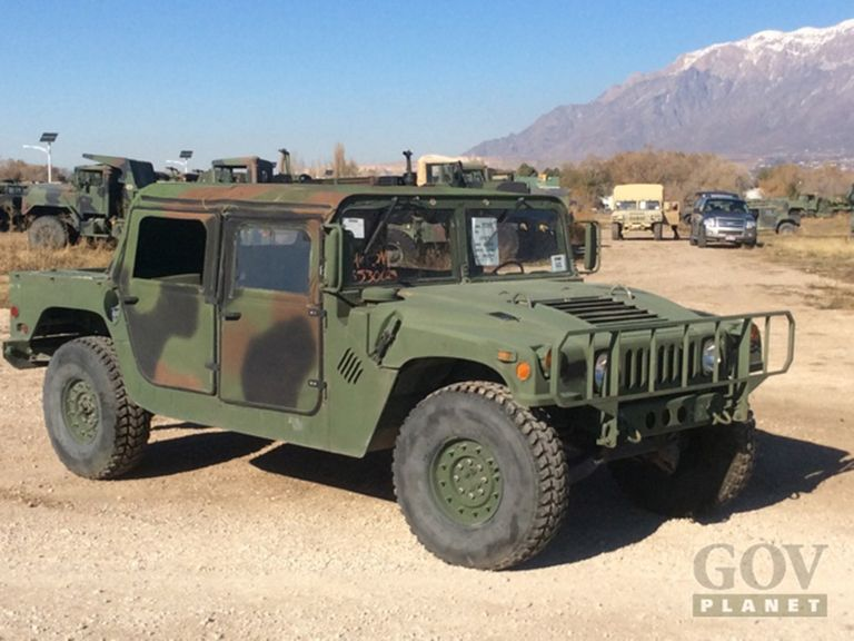 Buy some decommissioned Humvees for as low as $10k