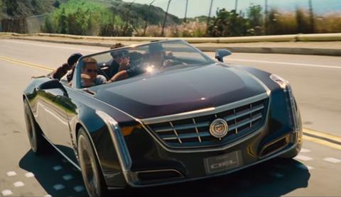 Cadillac Ciel co-stars in Entourage trailer