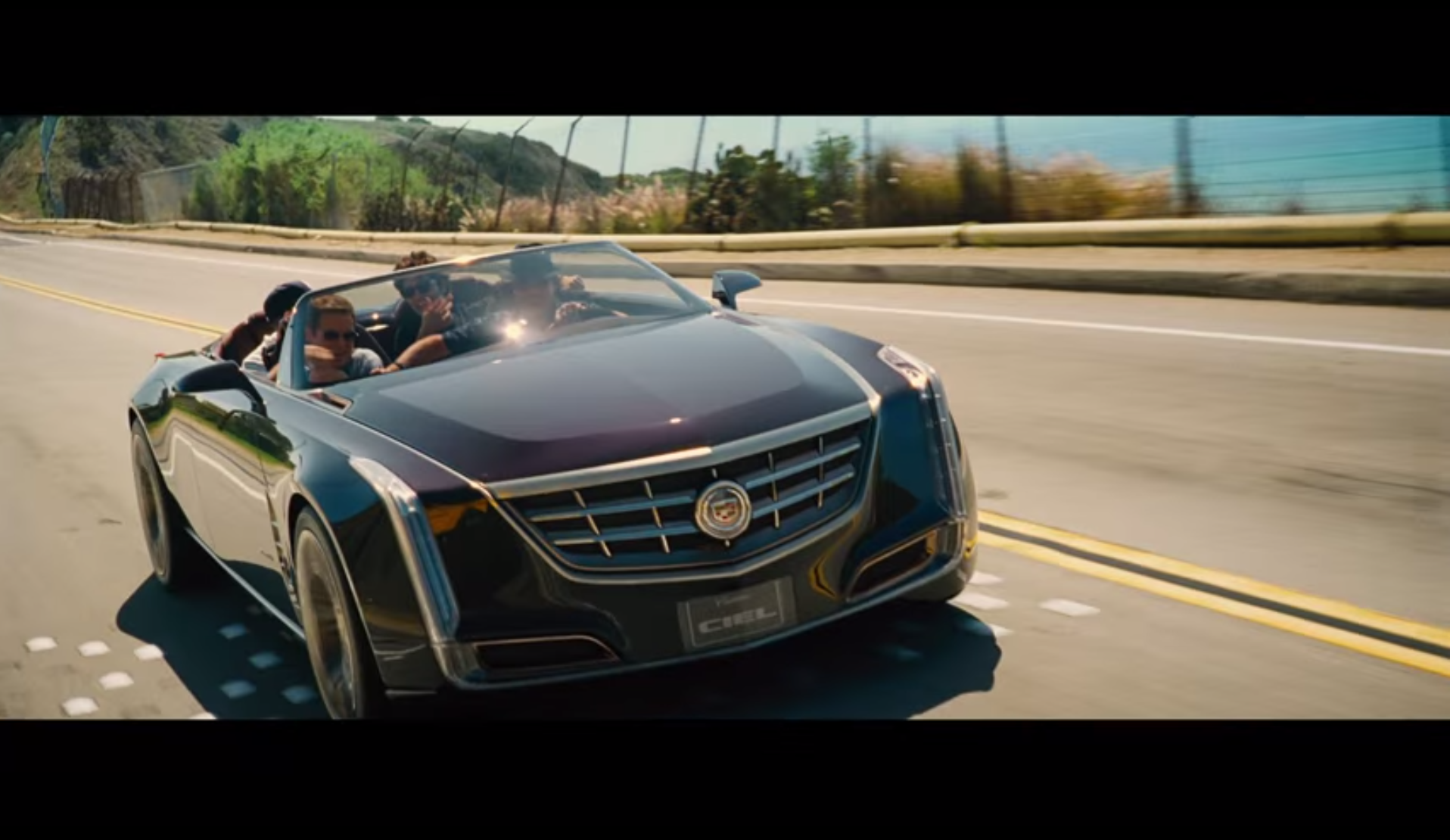 Cadillac Ciel Co Stars In Entourage Trailer