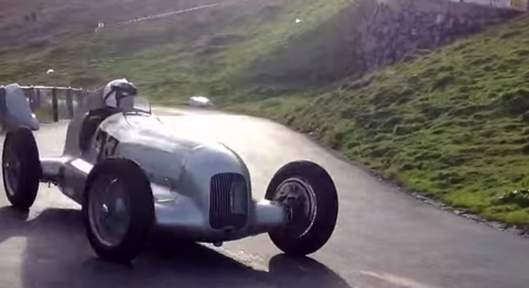 Supercharged Mercedes W25 Hillclimb