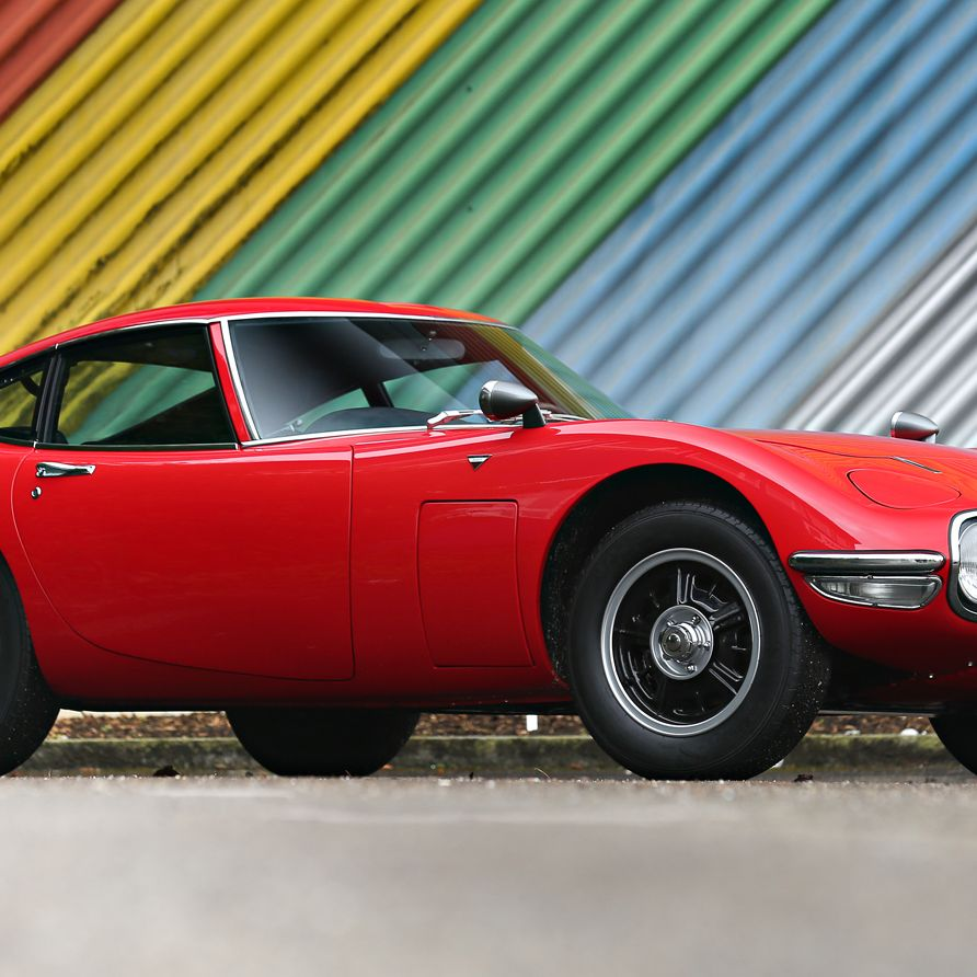 """A Swiss original, this particular Toyota 2000 GT is at <a href=""""http://www.goodingco.com/vehicle/1967-toyota-2000-gt-2/"""">Gooding &amp&#x3B; Company </a>where it's expected to bring up to $1.1M at auction in Scottsdale.&nbsp&#x3B;"""