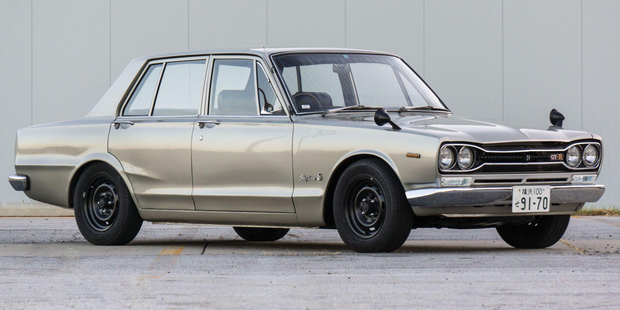 you can drop 6 figures on a classic skyline gt r sedan rh roadandtrack com 1970 nissan skyline gtr for sale 1970 nissan skyline gtr specs