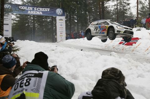 The ten best jumps from 2014 Rally Sweden