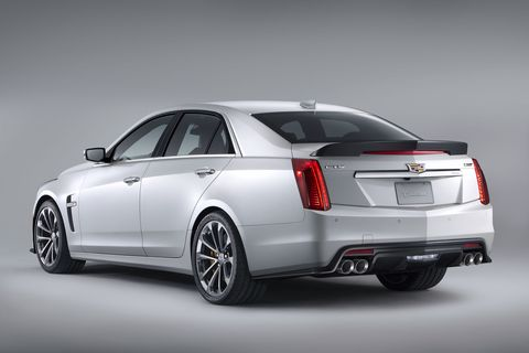 does how v cadillac on cts race automobiles sedan handle it the track